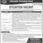Information Technology Board Azad Jammu and Kashmir 2017