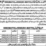 Interview Schedule Educators ESE Science Math & SSE Math Muzaffargarh 2017