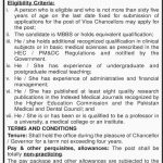 Vice Chancellor Required At  King Edward Medical University Lahore 2017