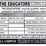 The Educators Teaching Jobs 2017