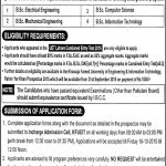 UET Khawaja Fareed Engineering University Rahim Yar Khan Admission 2017