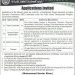Women University Azad Jamuu Kashmir Jobs 2017