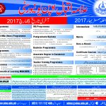 Admission Spring AIOU 2017