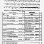 BISE Multan Date Sheet Science Arts Exam 2017