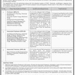 Faculty Position At Dawood University Of Engineering And Technology 2017