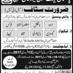 Lecturer Jobs At  Pakistan Cadet School And College 2017
