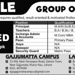 Apple Group Of Colleges Jobs 2017