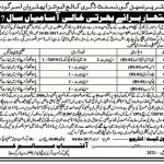 Government Degree College For Boys Sargodha Jobs 2017