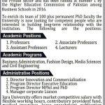 IQRA University Jobs 2017