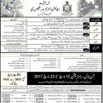 Pakistan Air Force Teaching Jobs 2017
