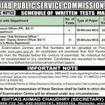 Punjab Public Service Commission PPSC 2017