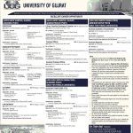 Staff Required At University Of Gujrat 2017