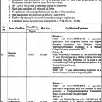 Fatima Jinnah Medical University Jobs 2017