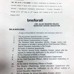 Punjab Summer Holidays Notification 2017 for School Education Department