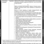 Shaheed Zulfiqar Ali Bhutto Medical University Jobs 2017
