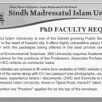 Sindh Madrasa Tul Islam University Jobs 017