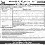 University Of Chitral KPK 2017