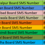 SMS Short Code for Punjab's Educational boards to get result via SMS