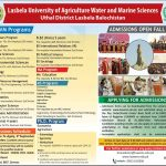 Lasbela University of Agriculture Admission 2017