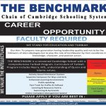 The Benchmark Cambridge Schooling System Career Opportunity