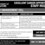 The University Of Lahore Jobs 2019